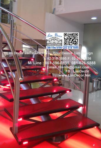 BEST SELLER DIY ราวบันไดสแตนเลส 2 (Stainless Steel Railing/Handrail No.2) 1