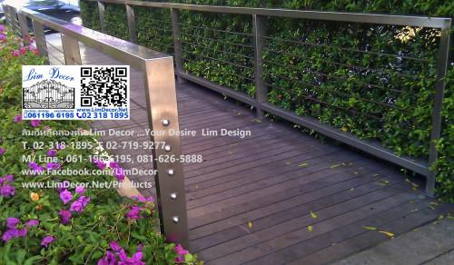 DIY ราวบันไดสแตนเลส Stainless Steel Handrail/ Banister No. LD-B039 at CaliforniaWow Ekkamai Branch 4