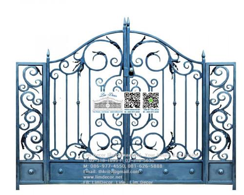 ประตูม้วนสแตนเลส Stainless Steel Shutter Gate 1