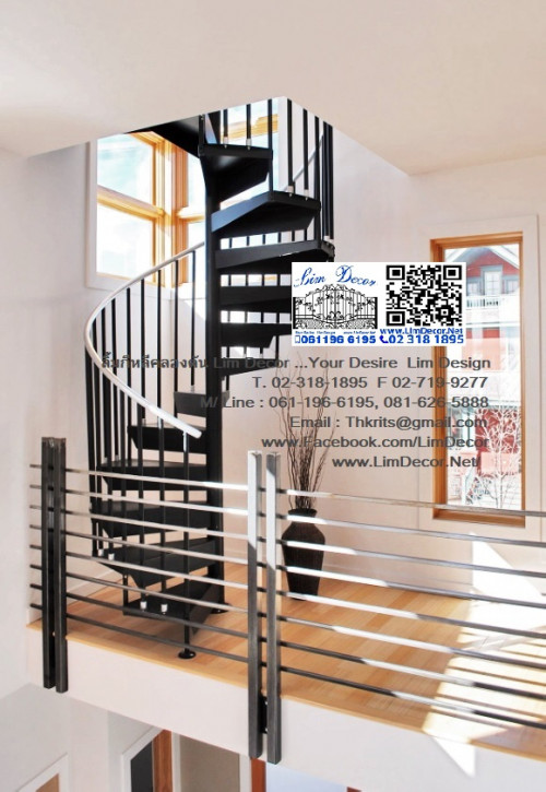 DIY ราวบันไดสแตนเลส Stainless Steel Railing  No.LD-B258 Best Seller Design!!! 2