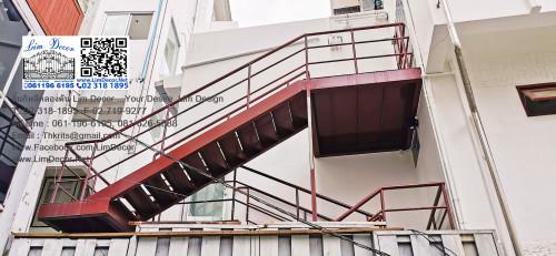 ประตูสแตนเลสบานเลื่อน  Sliding Stainless Steel Gate LD-A183 3