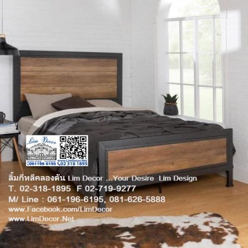 เตียงนอนเหล็กดัดอิตาลี่ร้อทไอร์อ้อนสั่งทำ สไตล์ยุโรป Antique Wrought Iron Steel Designed Bed 3