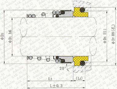 Seals Dimension CM 155