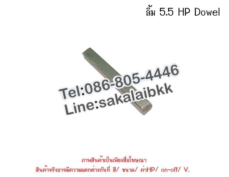 ลิ้ม 5.5 HP Dowel