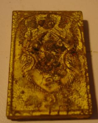 พระผงสาริกาหางเกี้ยว รุ่นเจริญเงินเจริญทอง ครูบากฤษณะ