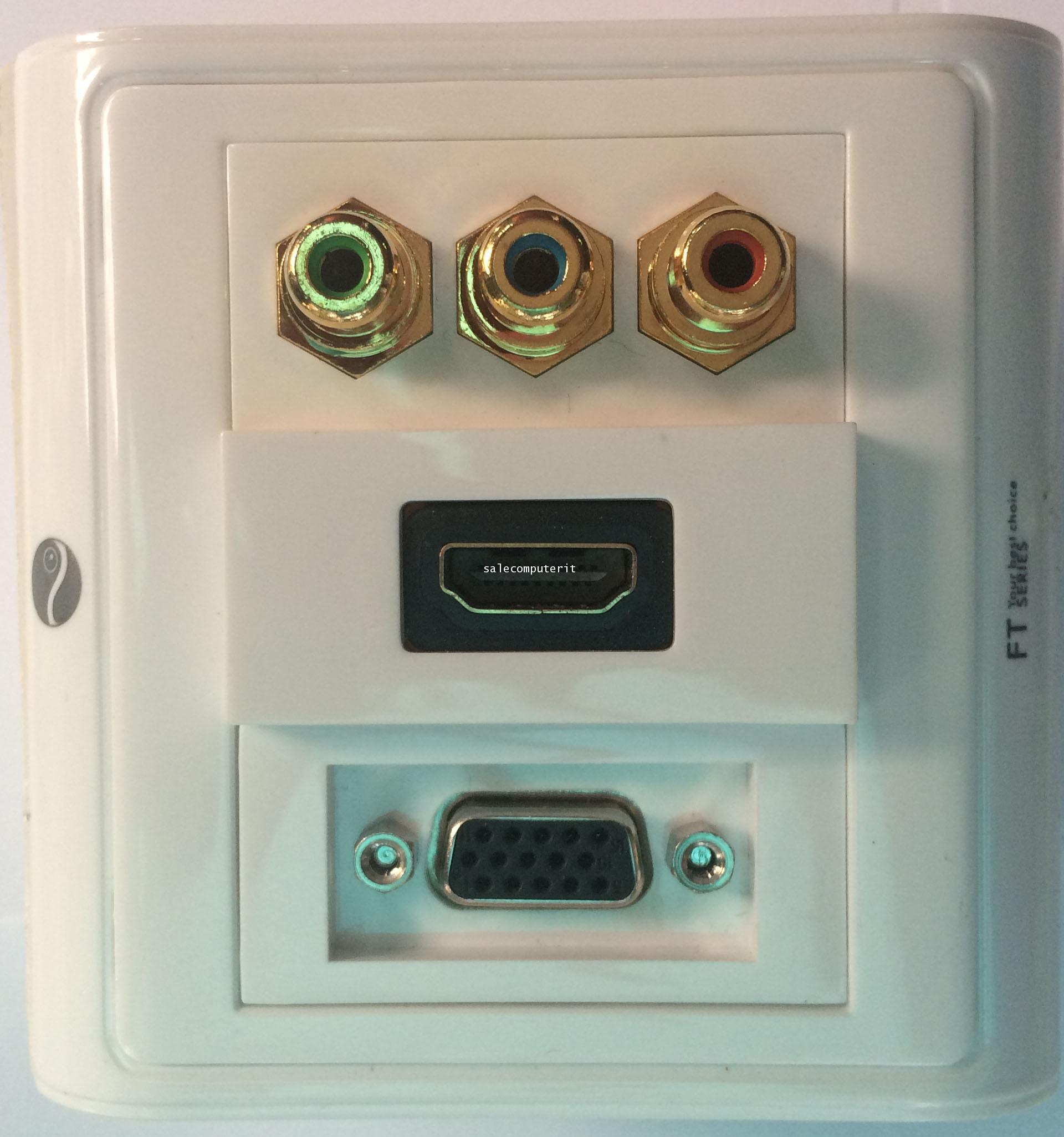 OutLet BOX HDMI,VGA, VIDEO