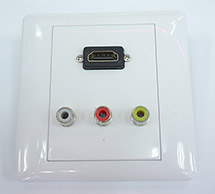OutLet BOX  HDMI 1 Port   RCA 3 port