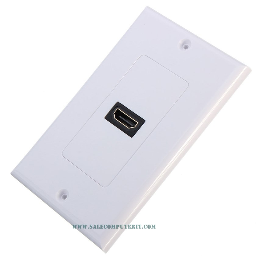 Outlet Plate   HDMI 1 Port 1
