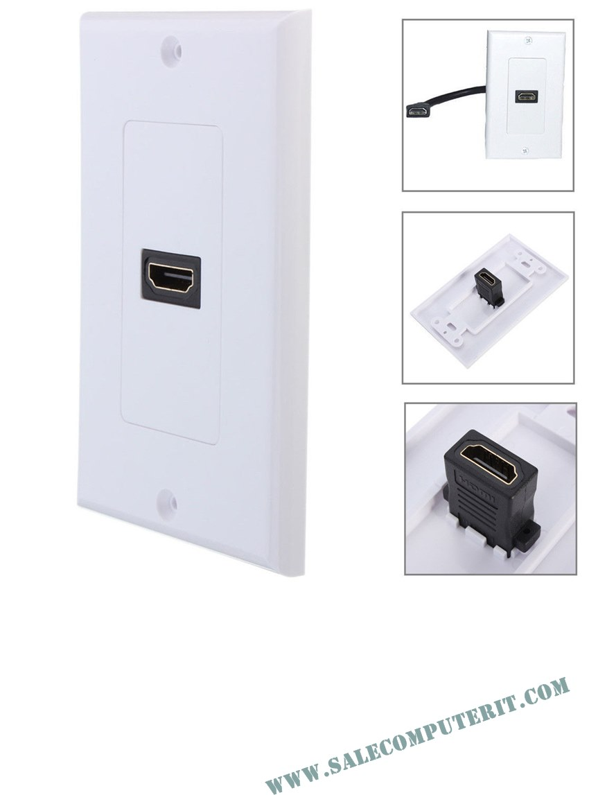 Outlet Plate   HDMI 1 Port 2