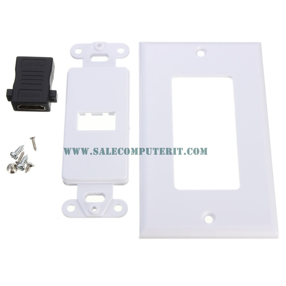 Outlet Plate   HDMI 1 Port 3