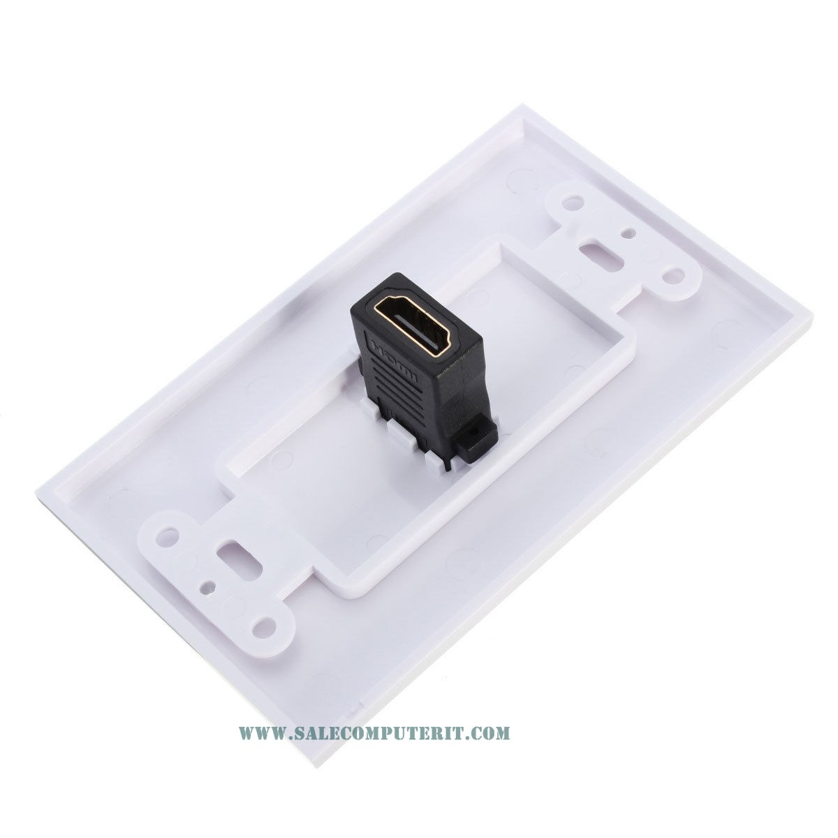 Outlet Plate   HDMI 1 Port 4