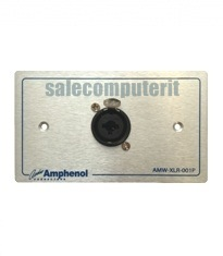 Amphenol Outlet Plate  AMW-COMBO-01P