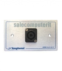 Amphenol Outlet Plate  AMW-SPK-01P
