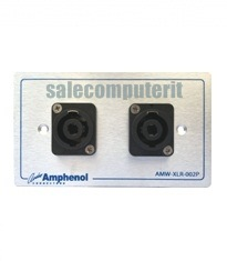 Amphenol Outlet Plate  AMW-SPK-02P