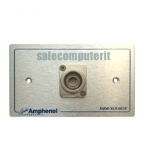 Amphenol Outlet Plate  AMW-BNC-01P