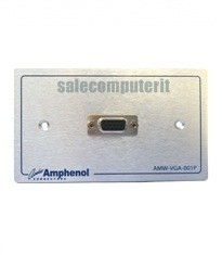 Amphenol Outlet Plate AMW-VGA-01P