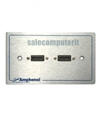 Amphenol Outlet Plate AMW-HDMI-02P