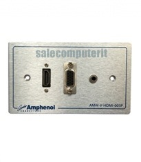 Amphenol Outlet Plate AMW-V-HDMI-03P