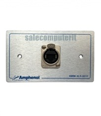Amphenol Outlet Plate AMW-RJ45-5T-01P