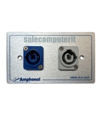 Amphenol Outlet Plate AMW-HP-BG-02P