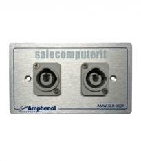 Amphenol Outlet Plate AMW-HP-G-02P