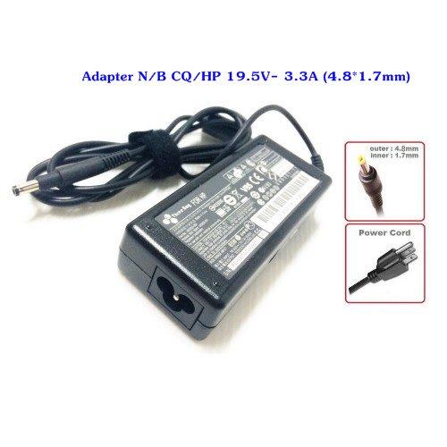 Adapter N/B CQ/HP 19.5V- 3.3A (4.8*1.7mm)