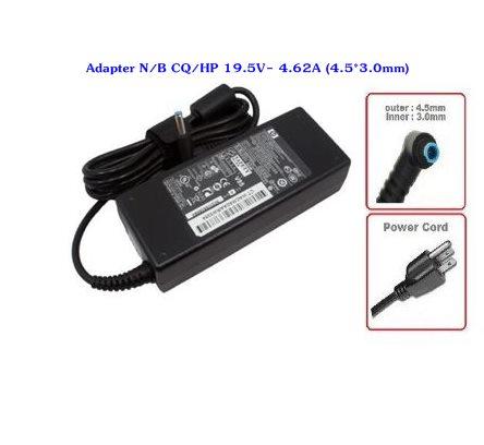 Adapter N/B CQ/HP 19.5V- 4.62A (4.5*3.0mm)