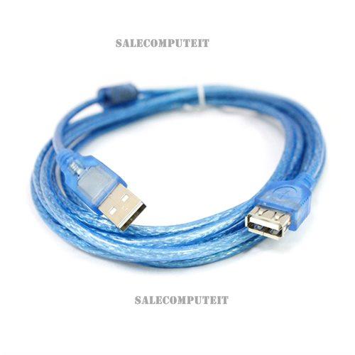สายต่อเพิ่มความยาว USB 2.0 ยาว 5 เมตร ผู้-เมีย