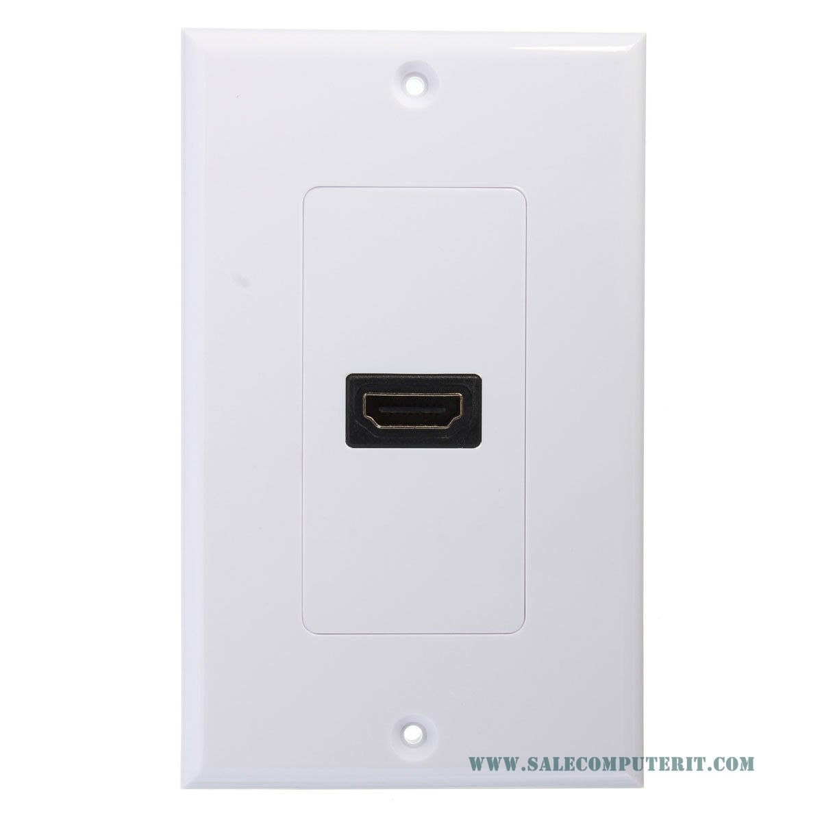 Outlet Plate   HDMI 1 Port