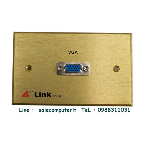 Outlet Plate   4th link FDP6