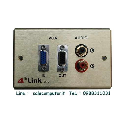Outlet Plate   4th link FDP 2