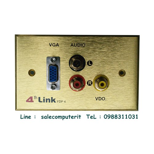 Outlet Plate   4th link FDP 4