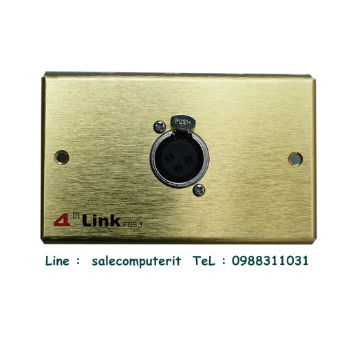 Outlet Plate   4th link FDS 1