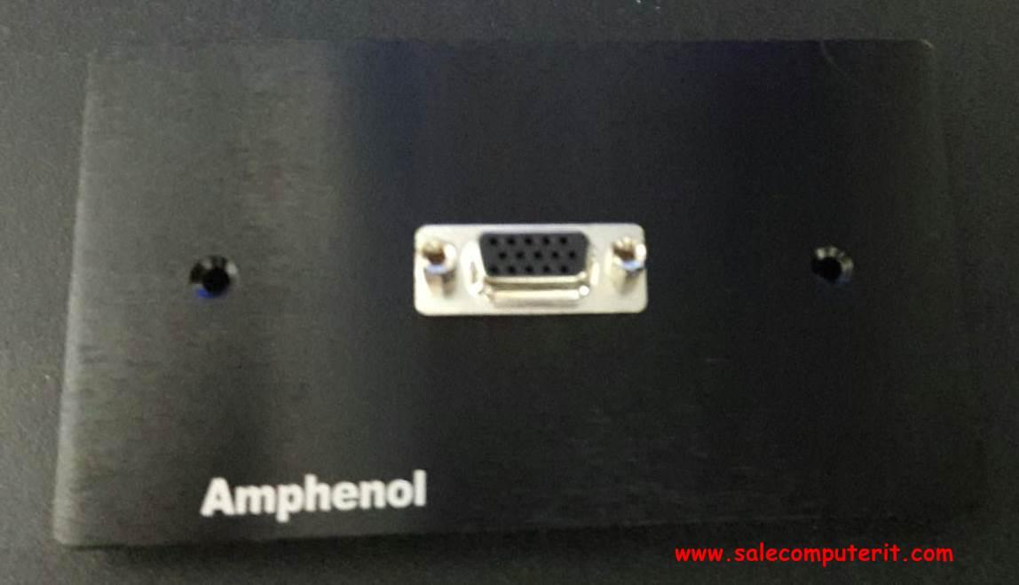 Amphenol Outlet Plate VGA 1 Port