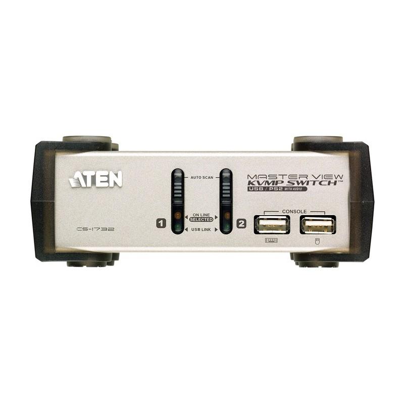 ATEN 2-PORT PS/2 USB KVMP SWITCH รุ่น  CS1732A