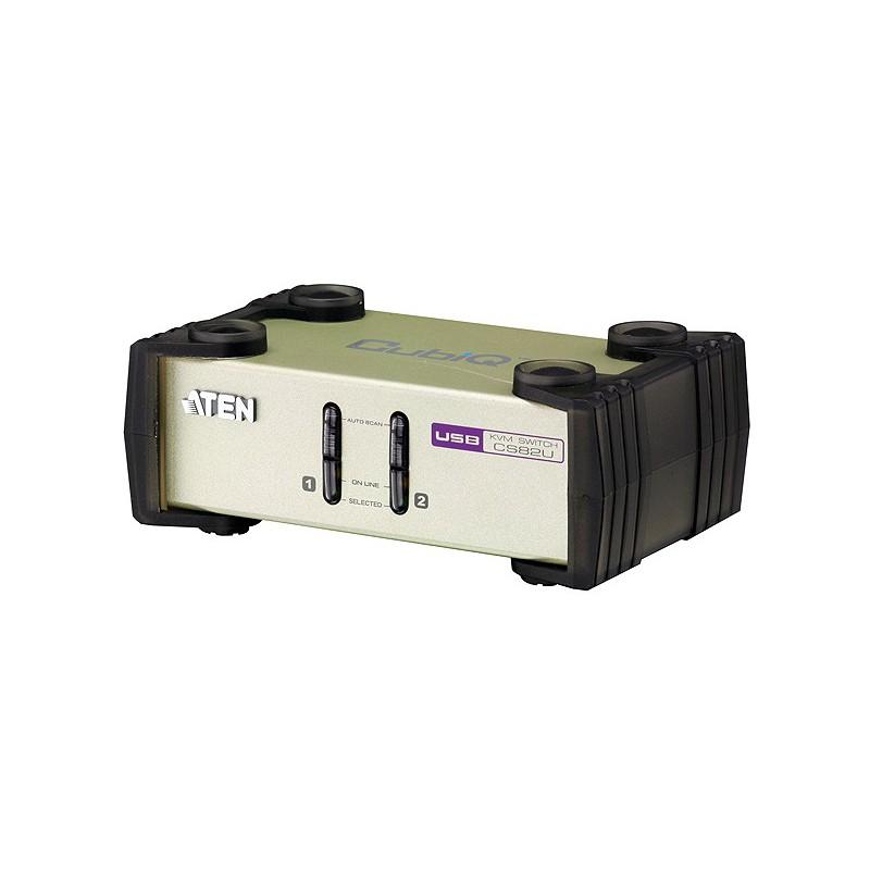 2-PORT PS/2-USB KVM SWITCH รุ่น  CS82U