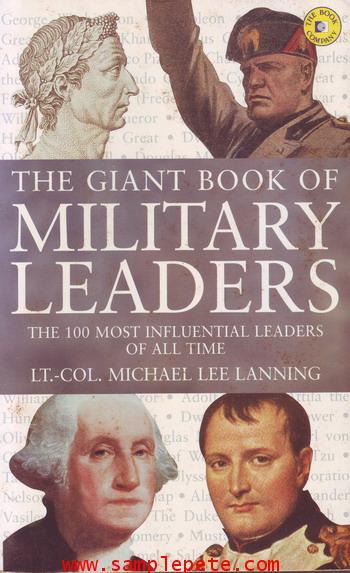 100 ผู้นำทางทหาร