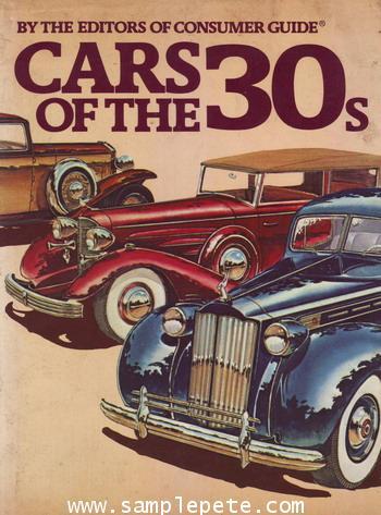 รถยนต์ในปี 1930