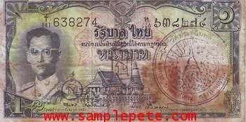ธนบัตรขวัญถุงหลวงปู่โต๊ะ วัดประดู่ฉิมพลี