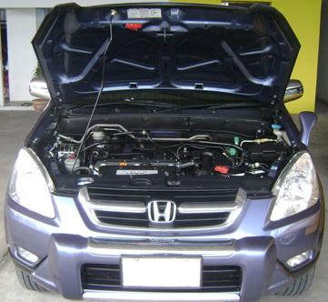 งานซ่อมแอร์ Honda CR-V G2