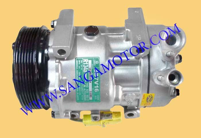 SD7V16 R134a PEUGEOT 406