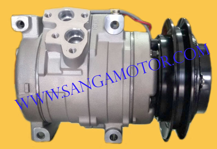 10S15C  24V  R134a  HINO  EURO  2  ออกข้าง  D4D