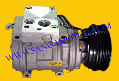 10PA15L  R12  ใช้แทน  MITSUBISHI  1600cc  R12  (หน้าหม้อน้ำ)  (5PK)