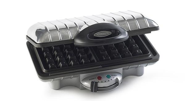 เครื่องอบขนมวาฟเฟิล พิมพ์ลึก ยี่ห้อ HomeMate รุ่น HOM-TSK2103W