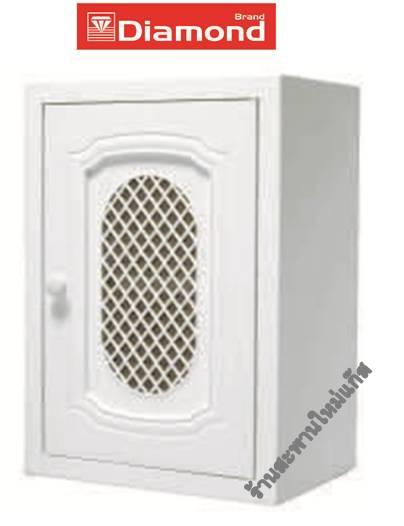 ตู้แขวนเดี่ยว ABS-HI- IMPACTABS-ตราเพชร (ลายลิเบอร์ตี้)