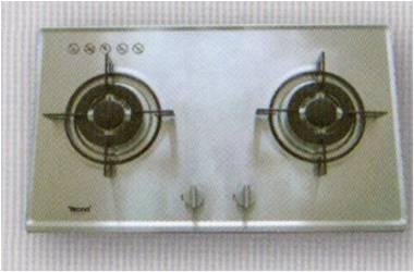 เตาฝังสแตนเลส เทคโน หัวเตาอัลลอยด์ 2 หัวเตา (รุ่น TNS 2073 SS)
