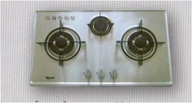 เตาฝังสแตนเลส หัวเตาอัลลอยด์ 3 หัวเตา เทคโนแก๊ส (รุ่น TNS 3073 SS)