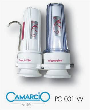 เครื่องกรองน้ำยี่ห้อ CAMARCIO รุ่น PC 001 W