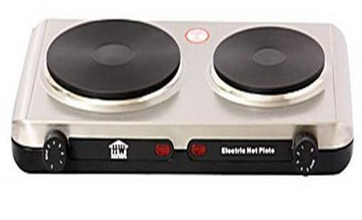 เตาไฟฟ้า 2 หัวเตา HouseWorth รุ่น HW-HP02