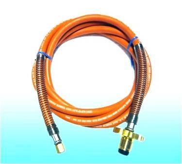 สายแก๊สแรงดันสูง สำหรับหัวเผาแก๊ส HIGAS ยาว 3 เมตร